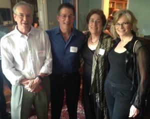 CCAF Faculty, Drs. Wayne Jones, Rob Garfield, Jacqueline Hudak, and CCAF Founder, Dr. Ellen Berman.